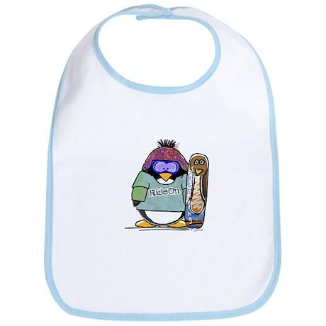 SnowBoard Penguin Bib