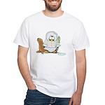 Eskimo Penguin White T-Shirt