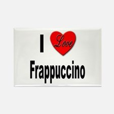 I Love Frappaccino Rectangle Magnet
