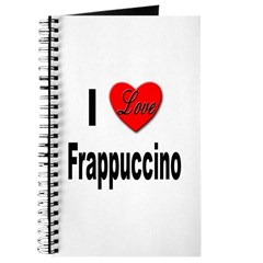 I Love Frappaccino Journal