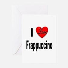 I Love Frappaccino Greeting Cards (Pk of 10)