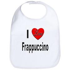 I Love Frappaccino Bib