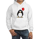 Red Balloon Penguin Hooded Sweatshirt