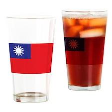 Taiwan1 Drinking Glass