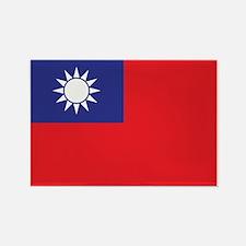 Taiwan1 Rectangle Magnet