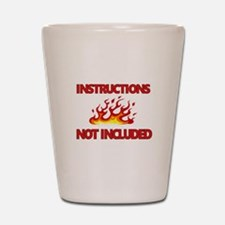INSTRUCTIONS Shot Glass