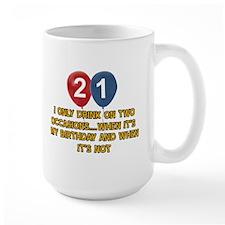 21 year old birthday designs Mug