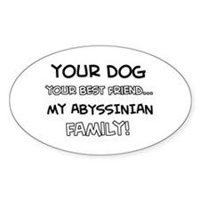 Abyssinian Cat designs Decal