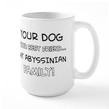 Abyssinian Cat designs Mug