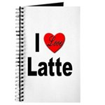 I Love Latte Journal