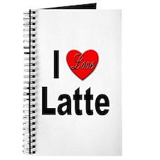 I Love Latte Journal
