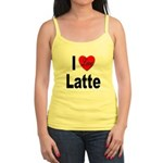 I Love Latte Jr. Spaghetti Tank