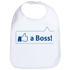 Like a Boss! Funny, Cool In-design Bib
