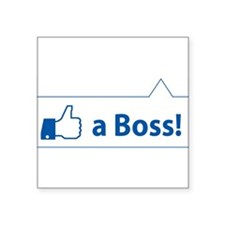 Like a Boss! Funny, Cool In-design Sticker