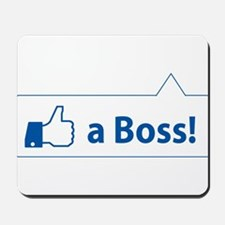 Like a Boss! Funny, Cool In-design Mousepad