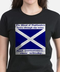 Scottish Blood Whisky St Andrew Tee