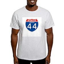 Interstate 44 - MO Ash Grey T-Shirt