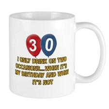30 year old birthday designs Mug