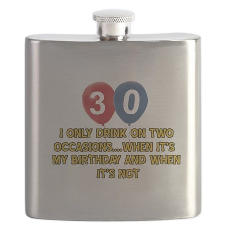 30 year old birthday designs Flask