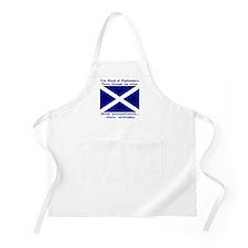 Scottish Blood Whisky St Andrew Apron