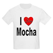 I Love Mocha Kids T-Shirt
