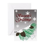 Masonic Tree Greeting Cards (Pk of 10)