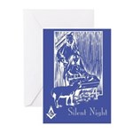 Masonic Nativity Greeting Cards (Pk of 10)