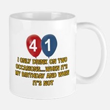 41 year old birthday designs Mug