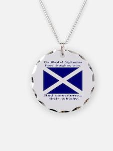 Shamrock of Chile Necklace