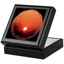 Sunrise Black Keepsake Box