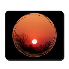 Sunrise Black Mousepad