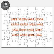 Hare Krsna Maha Mantra Puzzle