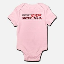 Job Ninja Architect Infant Bodysuit
