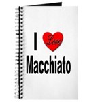 I Love Macchiato Journal