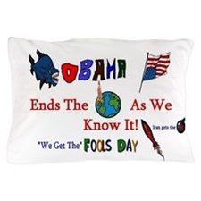 Obama and Iran Pillow Case