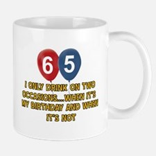 65 year old birthday designs Mug