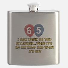 65 year old birthday designs Flask