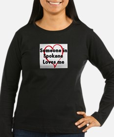 Loves me: Spokane Long Sleeve T-Shirt
