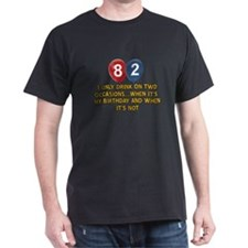 82 year old birthday designs T-Shirt