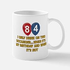 84 year old birthday designs Mug