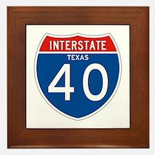 Interstate 40 - TX Framed Tile
