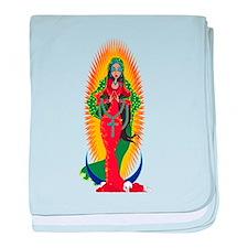 La Virgen de Guadalupe baby blanket
