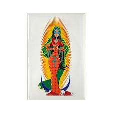 La Virgen de Guadalupe Rectangle Magnet