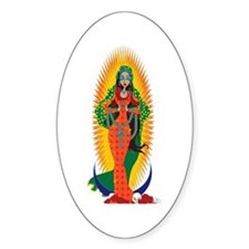 La Virgen de Guadalupe Decal
