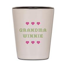 Grandma Winnie Shot Glass