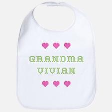 Grandma Vivian Bib