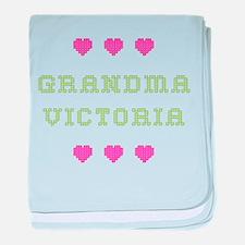 Grandma Victoria baby blanket