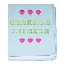 Grandma Theresa baby blanket