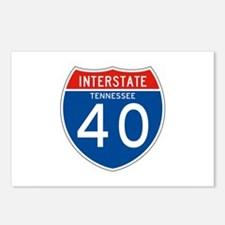 Interstate 40 - TN Postcards (Package of 8)