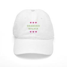 Grandma Sylvia Baseball Baseball Cap